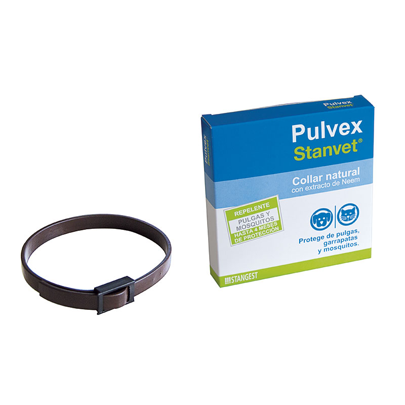 Stanvet Pulvex Collar Dogs & Cats Antiparasitic Repellent