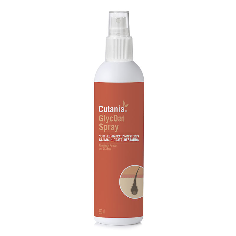 Cutania GlycOat Dermatological Spray 236