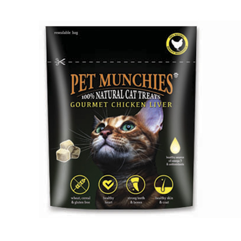 Pet Munchies Gourmet Chicken Liver 10gr