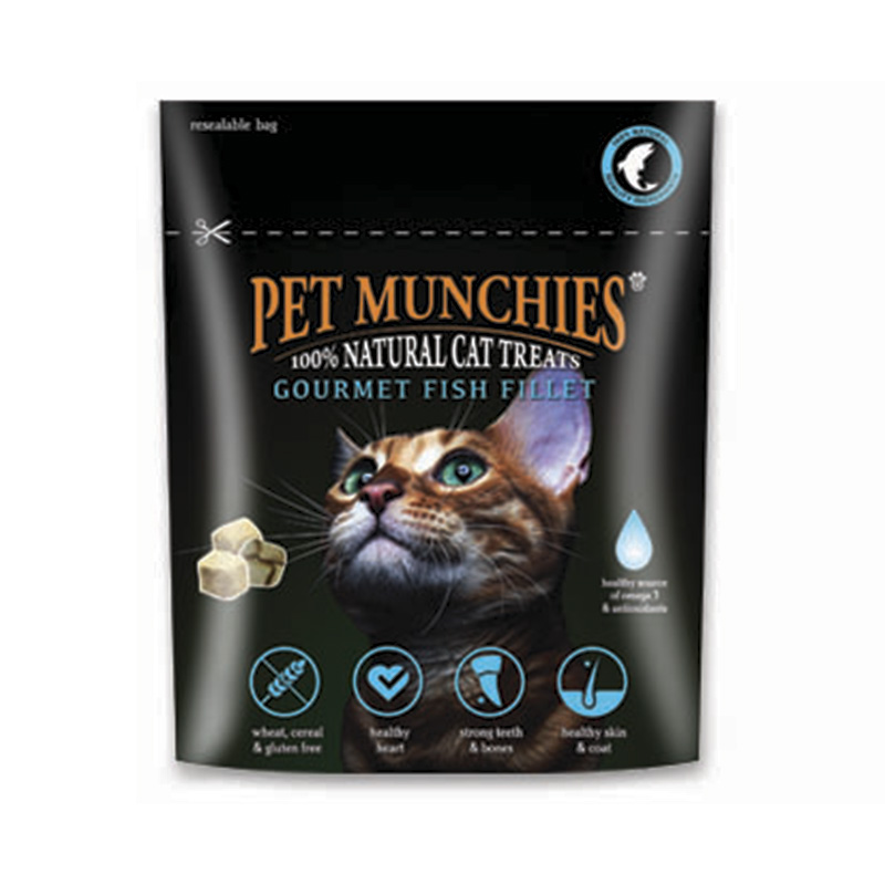 Pet Munchies Gourmet Filete de Pescado 10gr