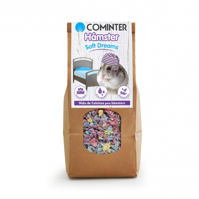 Cominter Litter Hamster Soft Dreams Confetti