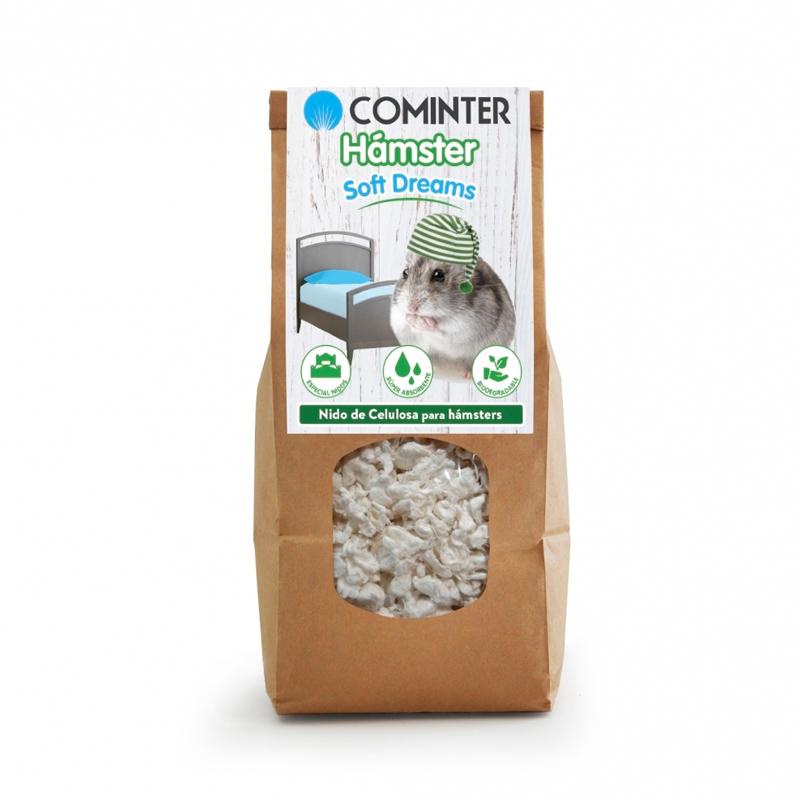 Cominter Litter Hamster Soft Dreams White