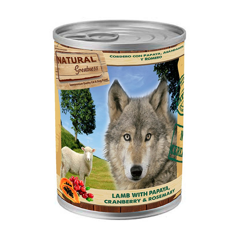 GIFT Dog Can Natural Greatness WFD 400gr. (with bags of +6kg)