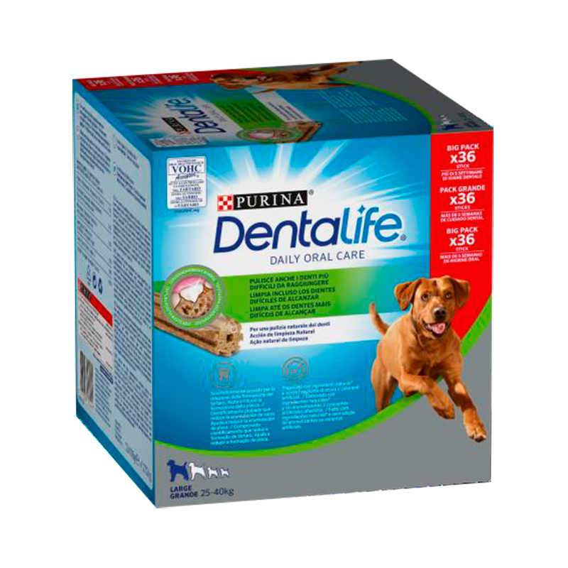 Dentalife Purina Large Dogs  Multipack 36 sticks