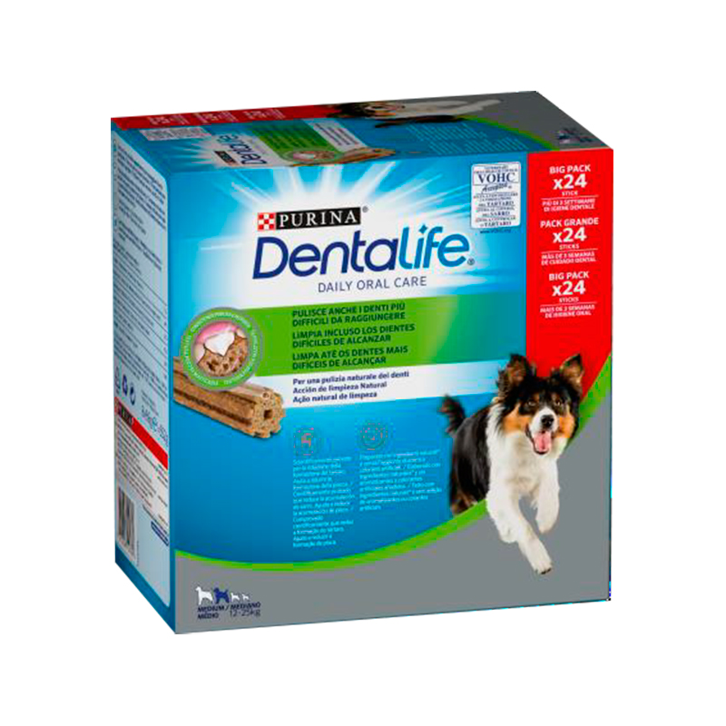 Dentalife Purina Medium Dogs Multipack 24 sticks