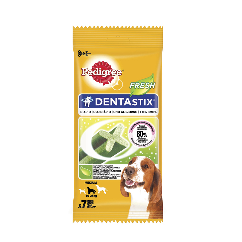 Pedigree Dentastix Fresh Razas Medianas / Grandes 180gr
