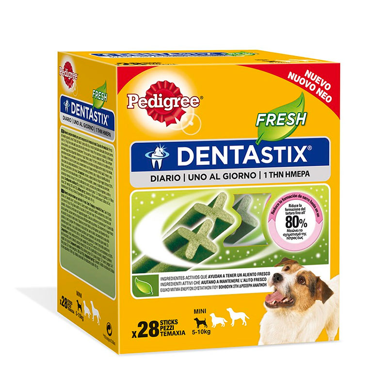 Pedigree Dentastix Fresh Junior / Razas Pequeñas Multipack 440gr
