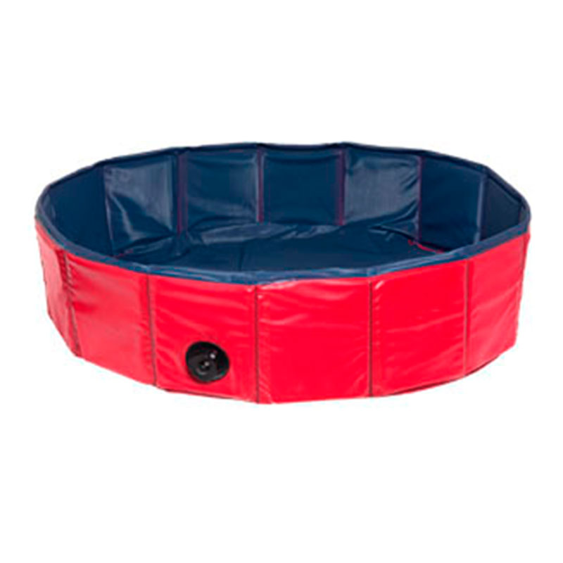 Doggy Swimming Pool for dogs Blue/Red