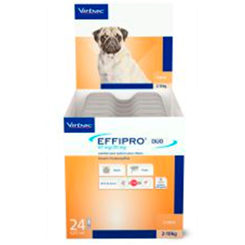 Effipro duo spot on Pipettes for small dog