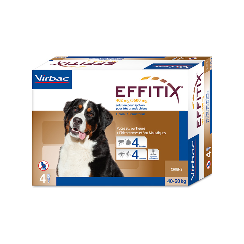 External Antiparasitic Effitix for giant dogs 40-60kg