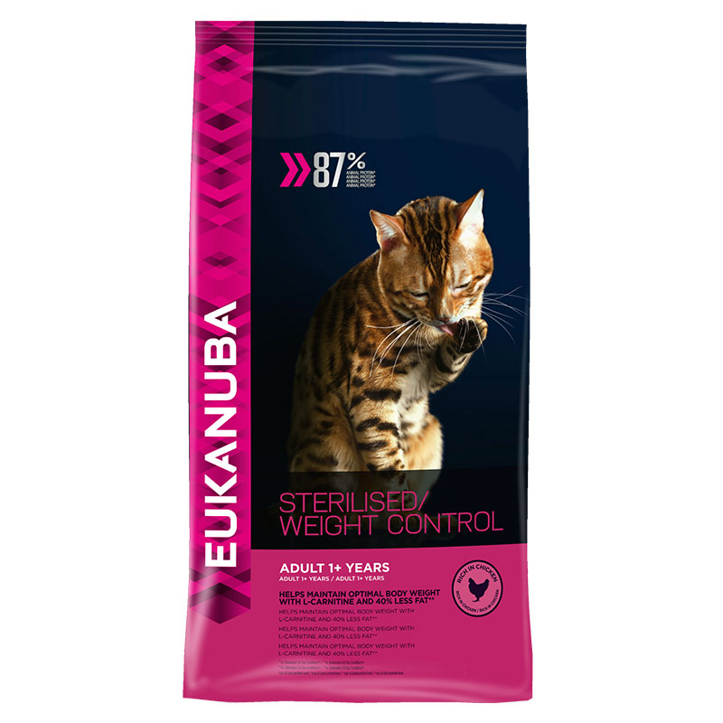 Eukanuba Gato Adulto Sterilised/ Weight Control