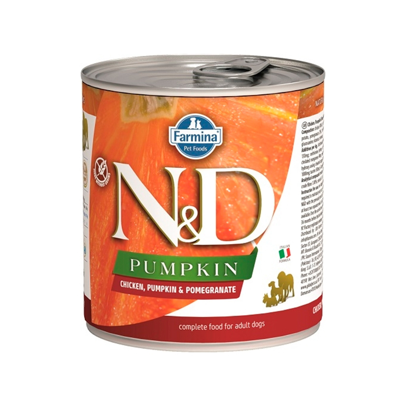 Farmina N&D Grain Free Pumpkin Dog Chicken Can