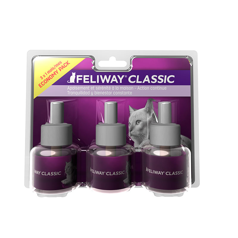 Feliway Classic 3 Pack Replacement 3 months