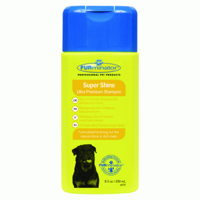FURminator SuperShine Ultra Premium Dog Shampoo 250ml