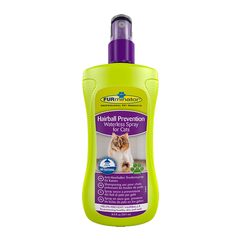 FURminator Spray Preventivo Bolas  de Pelo en Seco 250ml
