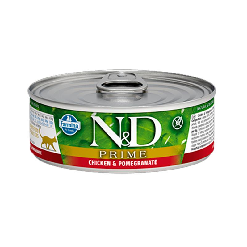 Farmina N&D Grain Free Prime Cat Chicken & Pomegranate Can