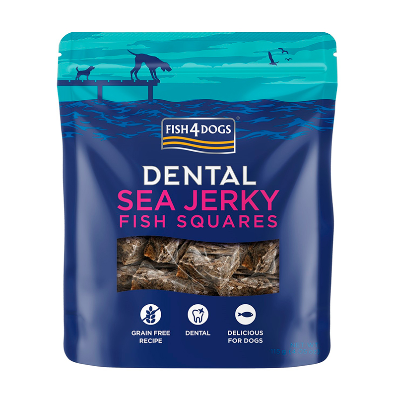 Fish4Dog Sea Jerky Squares