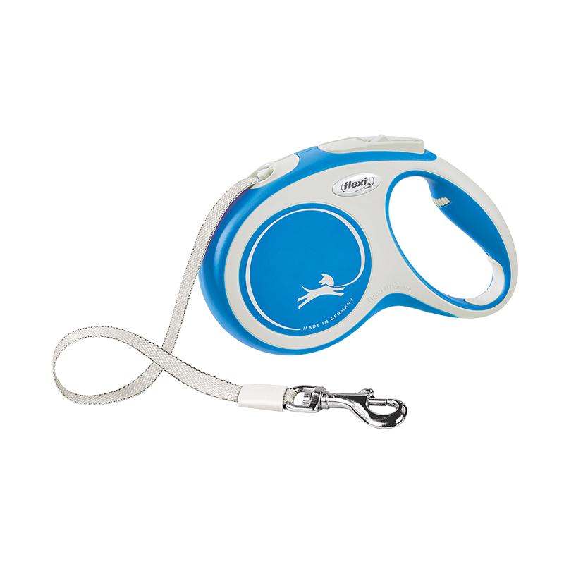 Flexi Extensible Leash New Comfort Leash Long Light Blue