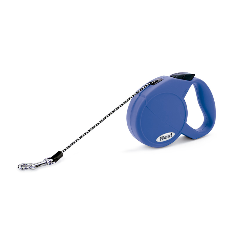 Retractable Leash flexi Cat Blue