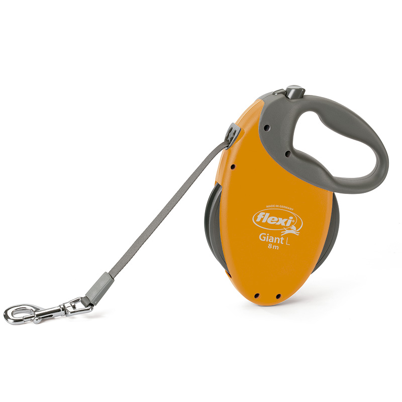 Retractable Leash flexi Giant Orange