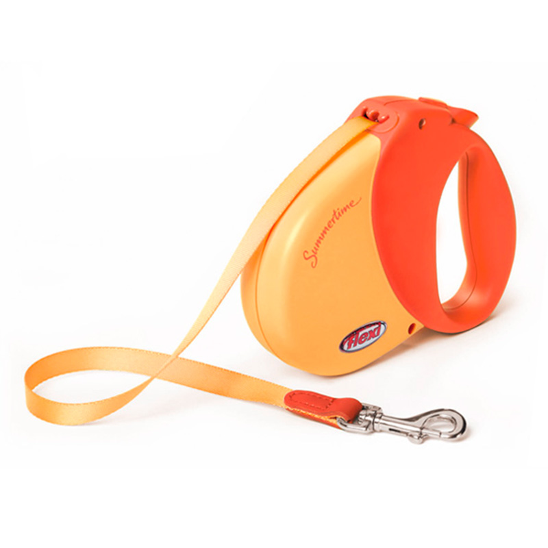 Retractable Leash flexi Summertime Orange