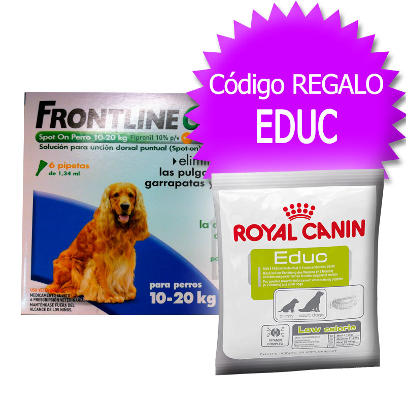 External Antiparasitic Frontline Combo Spot-On Dog 10-20Kg+Coupon