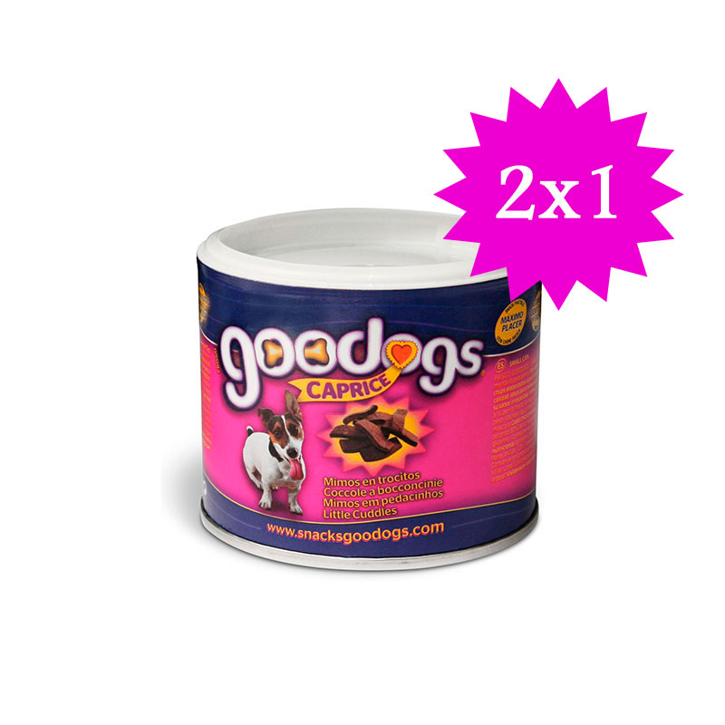 Promo 2x1 Caprice Goodogs Treats 75gr
