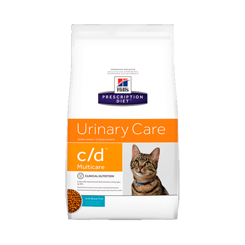 Hill's Feline c/d Multicare with Ocean Fish