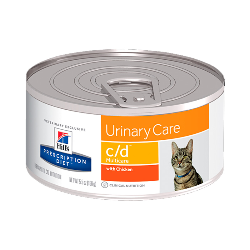 Hill's Feline c/d Can with Chicken 156gr