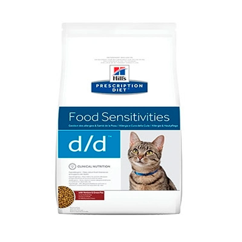 Hill's Feline d/d with Venison & Peas 1.5Kg