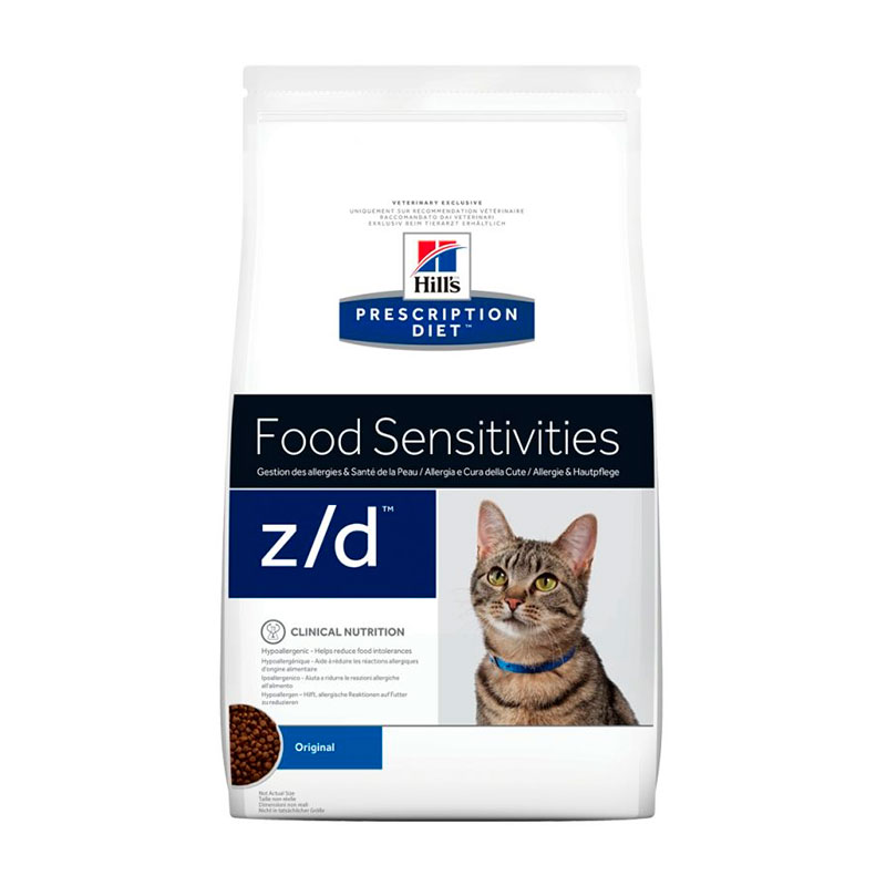 Hill's Feline z/d Allergy & Skin Care 2Kg
