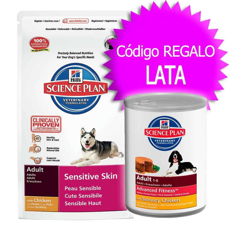 Science Diet Canine Adult Sensitive Skin Dry 2kg