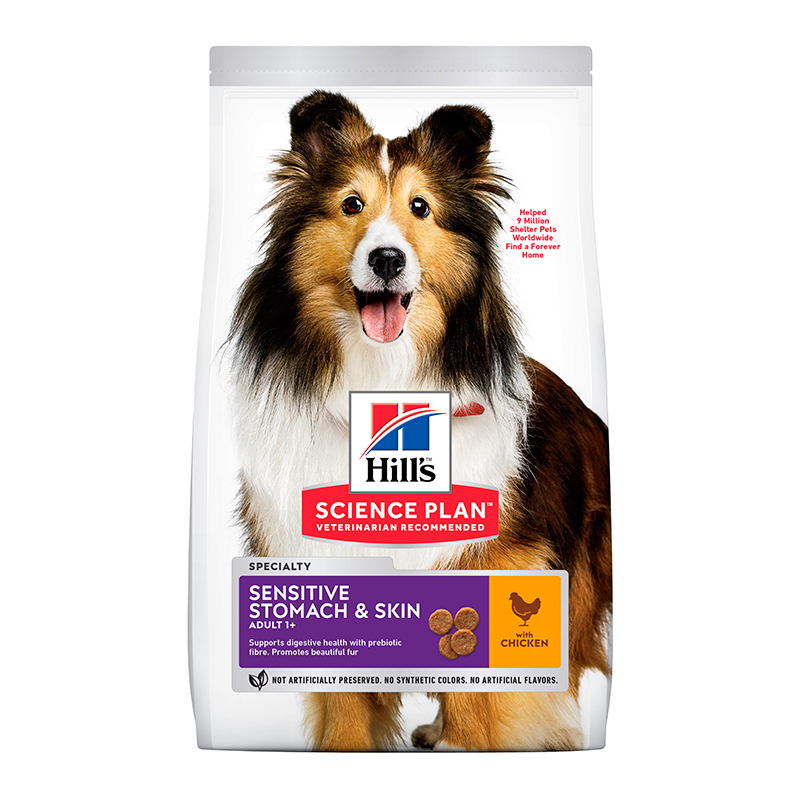 Hill's Adulto Sensitive Stomach & Skin