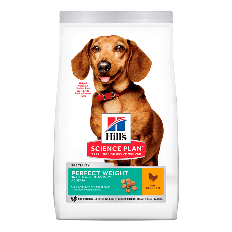 Hill's Mini Breed Adult Perfect Weight with Chicken