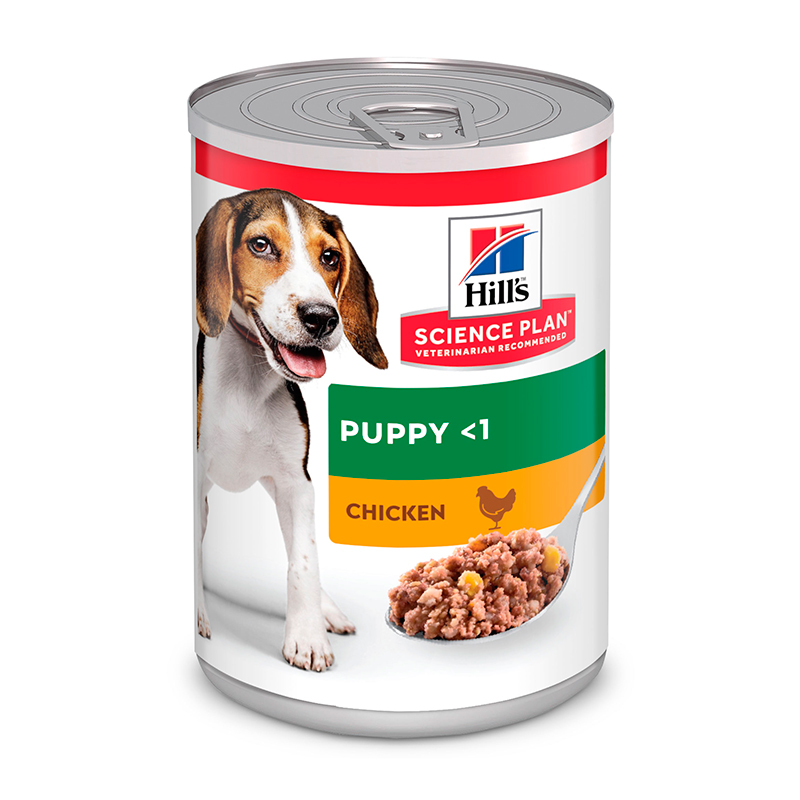 Hill's Lata Puppy Pollo 370gr