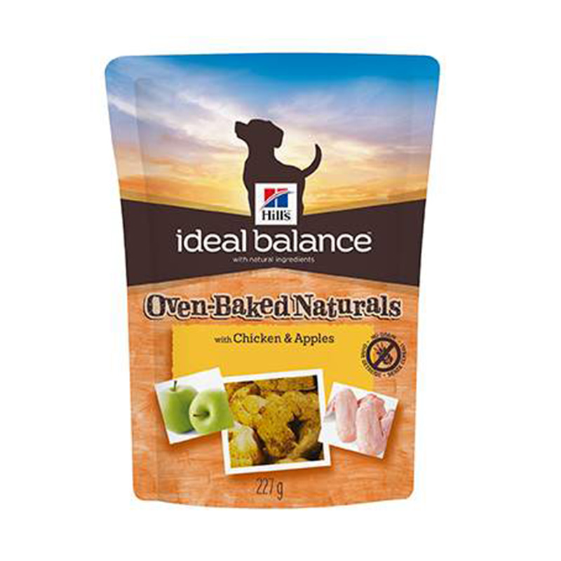 Hill's Ideal Balance Canine Premios Oven-Baked con Pollo y Manzana 227gr