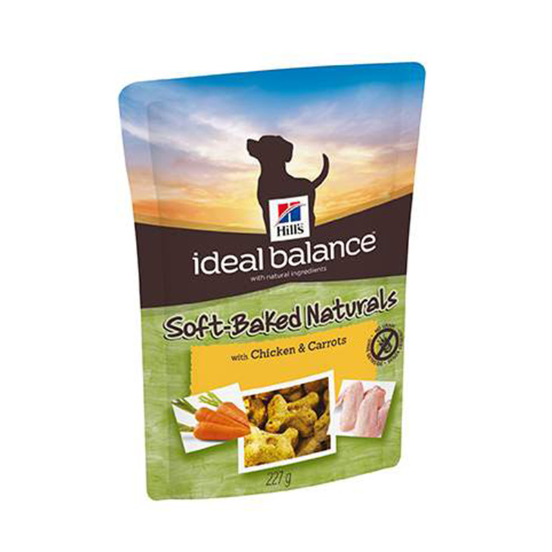Hill's Ideal Balance Canine Premios Soft-Baked con Pollo y Zanahoria 227gr