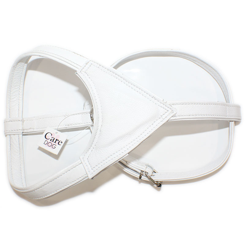 Leather Harness Moscow White
