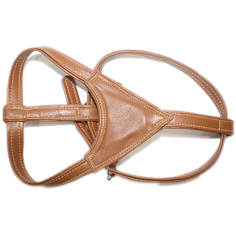 Leather Harness Moscow Natural