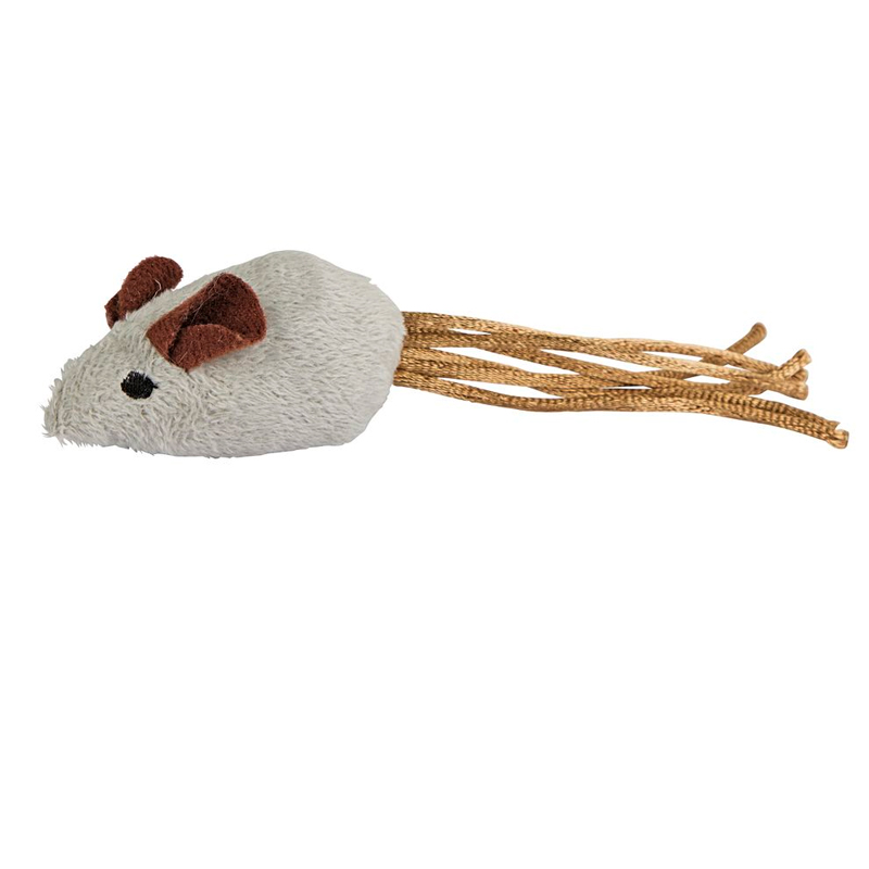 Kerbl Gray Mouse Toy For Cats