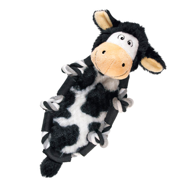 Kong Barnyard Knots Cow Dog Toy
