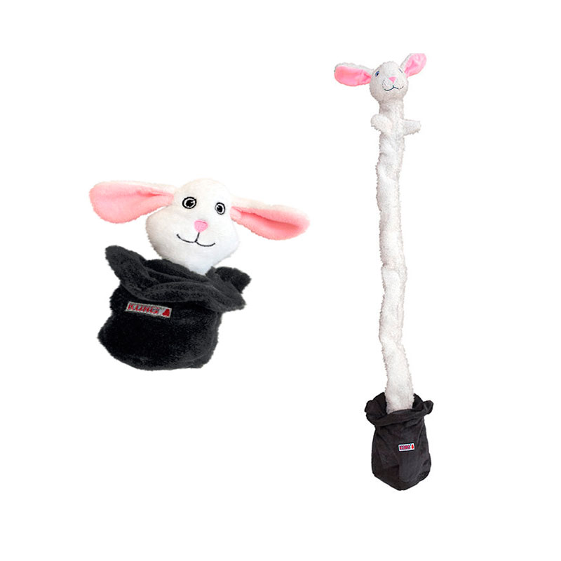 Kong Puzzlement Escape Rabbit/Hat Dog Toy
