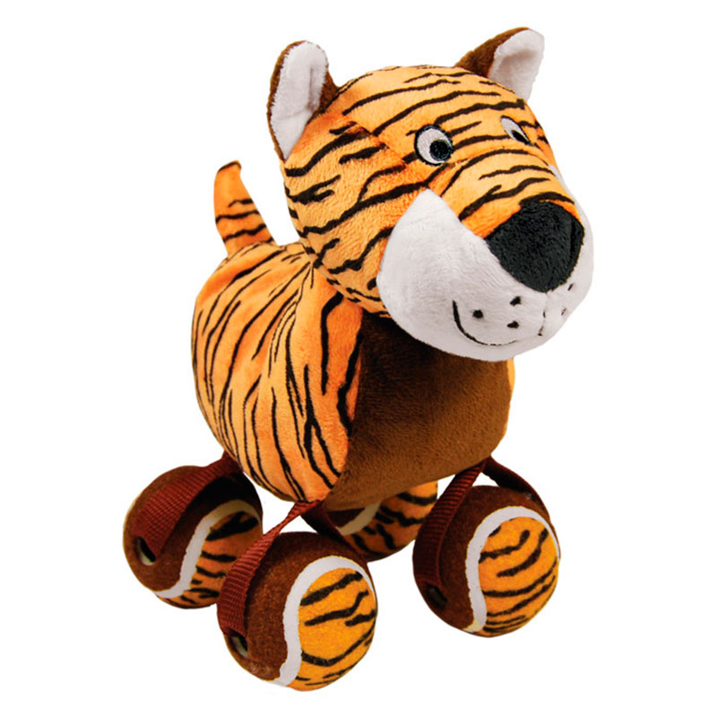Kong Tennishoes Tiger Dog Toy