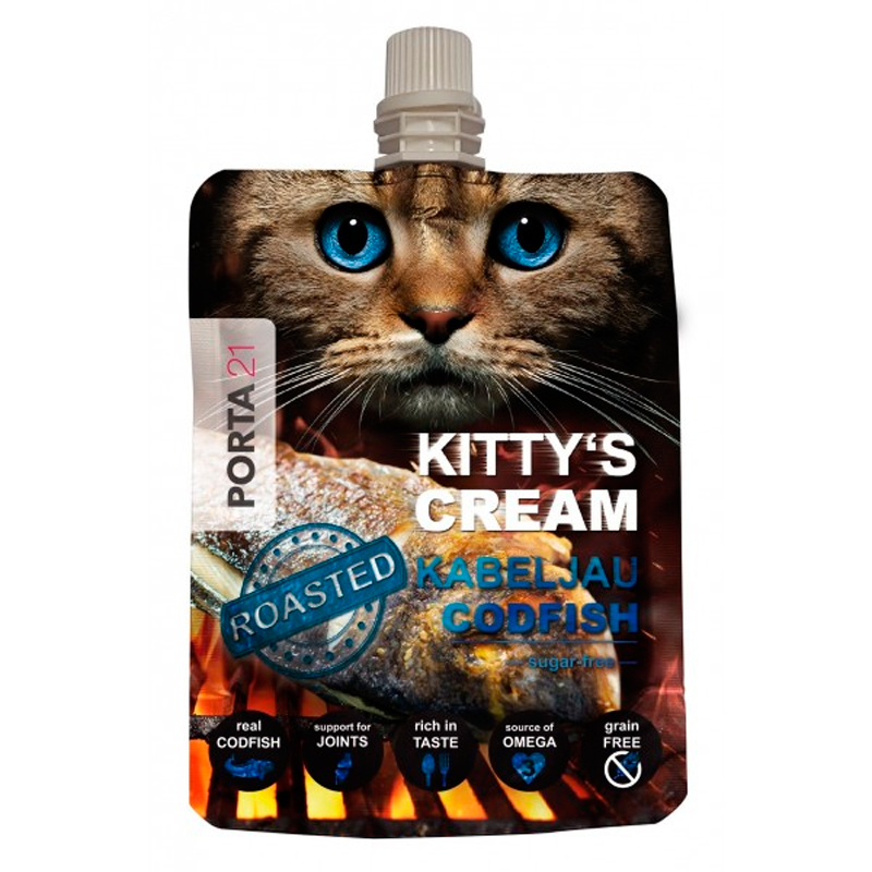 Jolly Pet Snack Cod for Kittys Cream Cats