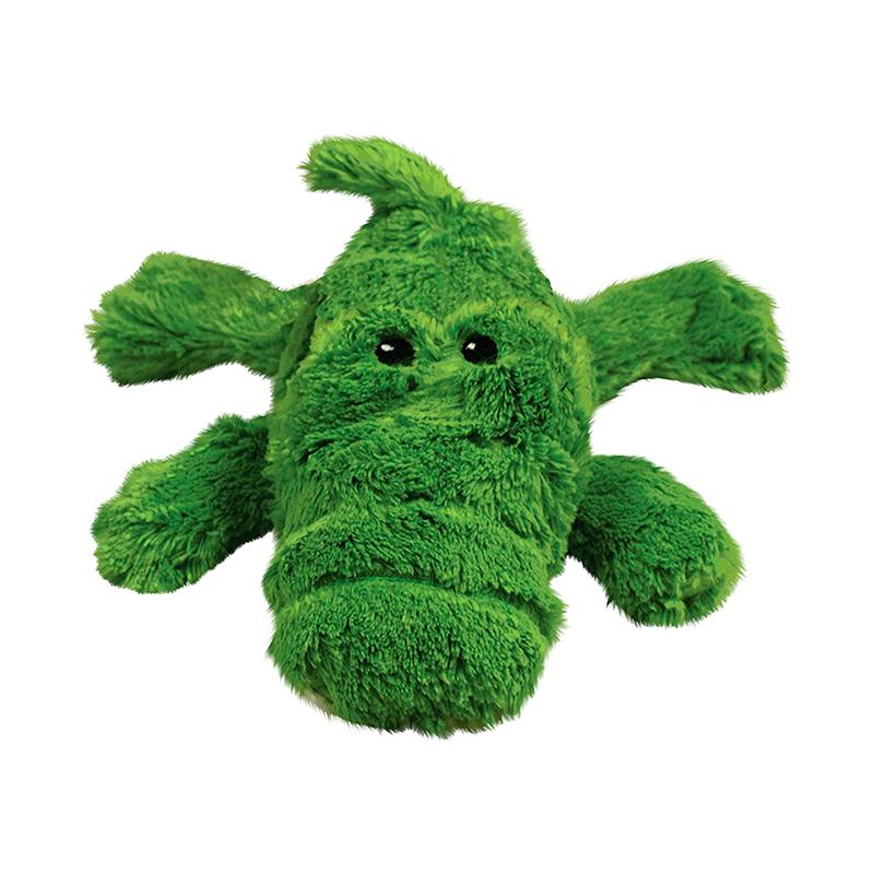 Kong Cozie Natural Alligator Dog Toy
