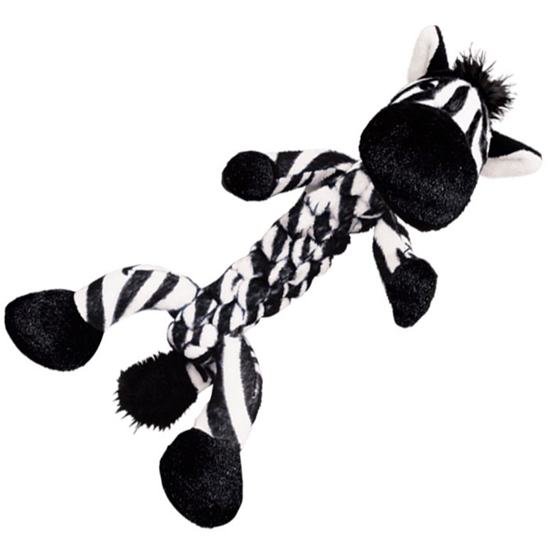 Kong Braidz Zebra Dog toy