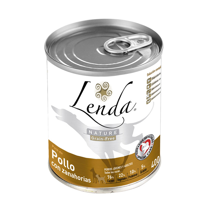 Lenda Nature Grain Free Chicken with Carrots