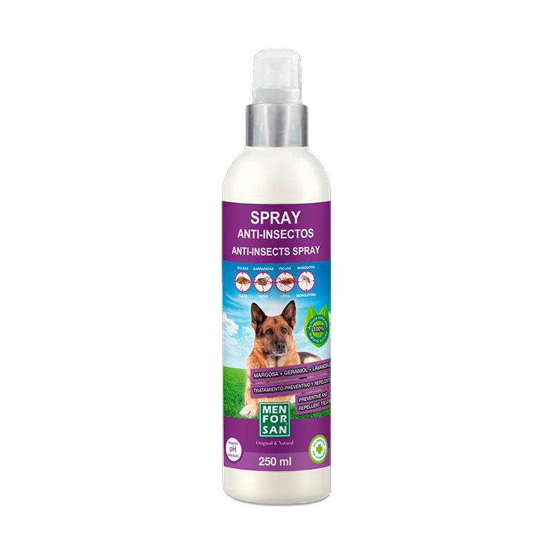 Menforsan Anti-insect Spray Dogs with Margosa, Geraniol, Lavandino