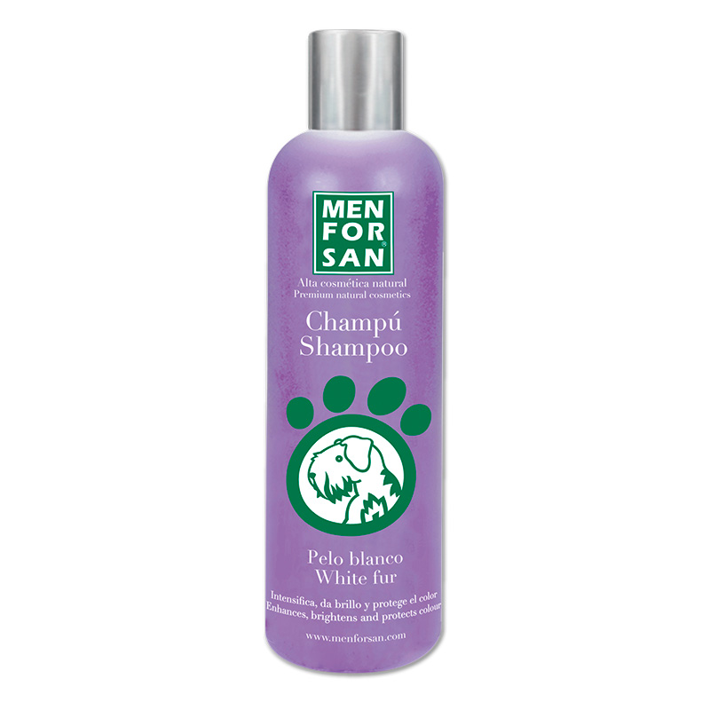 Menforsan Shampoo for Dogs White Hair