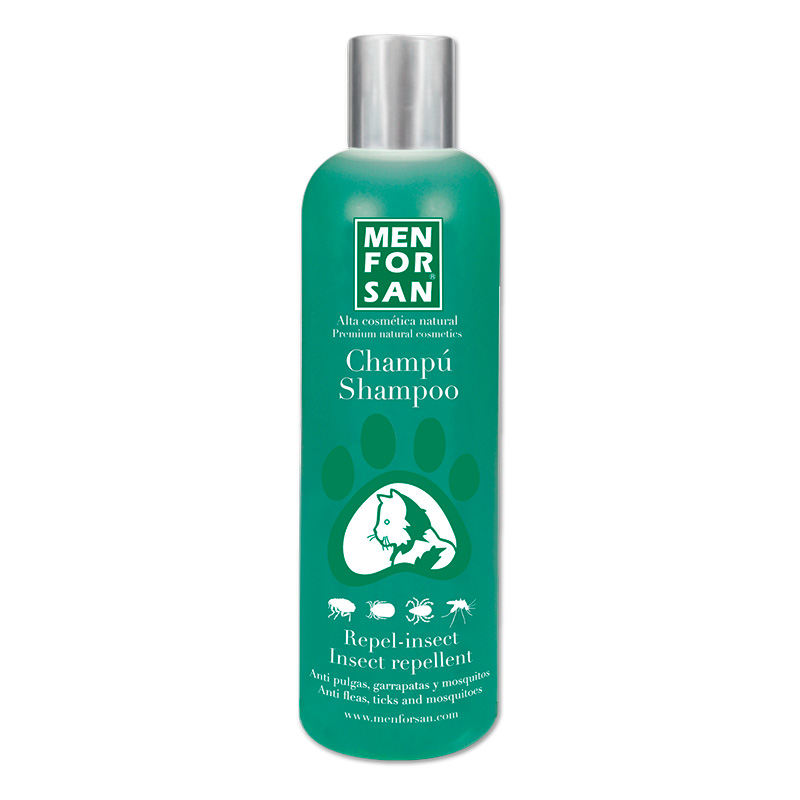 Menforsan Natural Insect Repellent Shampoo Citronella for Cats